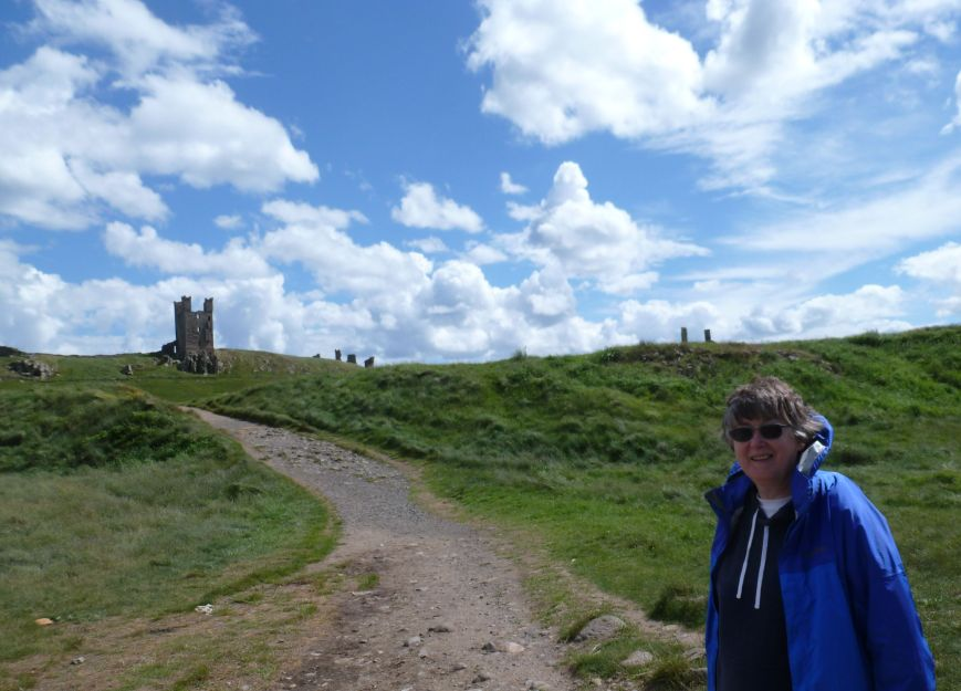 Dunstanburgh Castle, Northumberland, 15 June